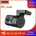 ZEROGOGO Z3 мини Видеорегистраторы для автомобилей Камера 4K Dash Cam GPS авто, быстрая камера 4K Ультра HD видео Регистраторы супер Ночное видение Супер...