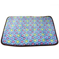 PDouble Sides Available Pet Dog Cat Summer Cool Sleeping Bed and Winter Warm Blanket for Pet Dog Supplies CM