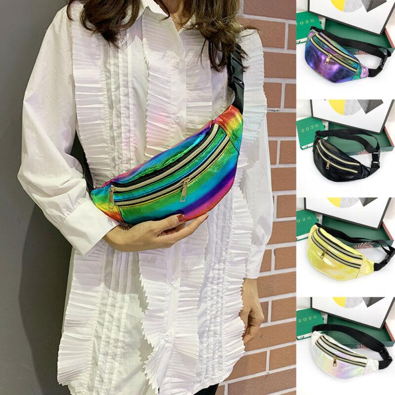 Women Waist Fanny Pack Belt Bag Chest Pouch Travel Hip Bum Bag Small Purse