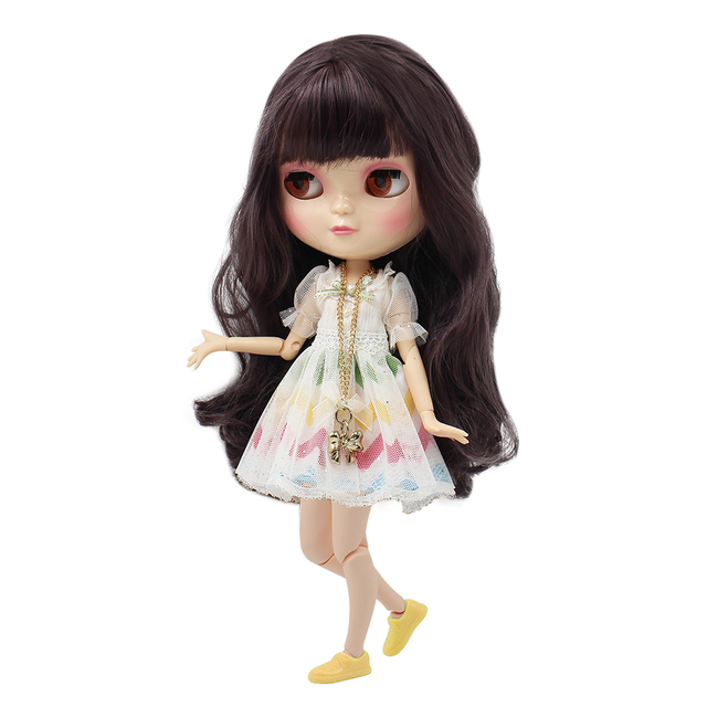 Fortune Days New ICY DBS Doll white skin Same As Factory Full Set Clothes Including Joint Body  Clothes & yellow plastic shose