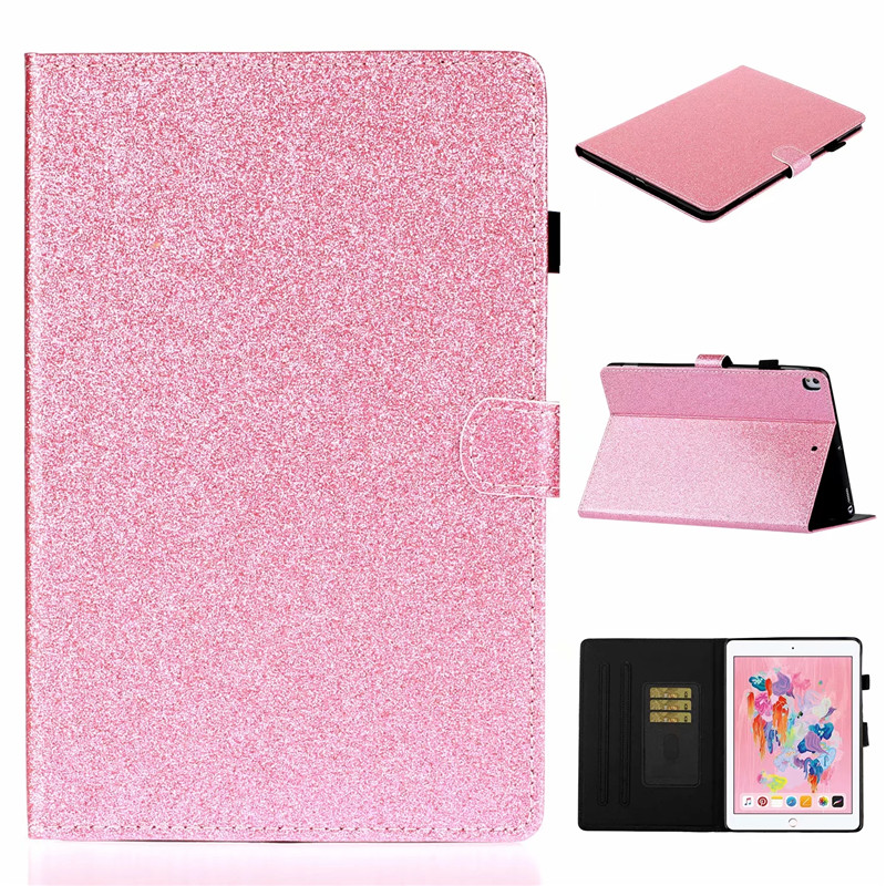 generation iPad iPad Stand For Bling Wallet 7th Glitter Tablet Flip Cover Apple For case