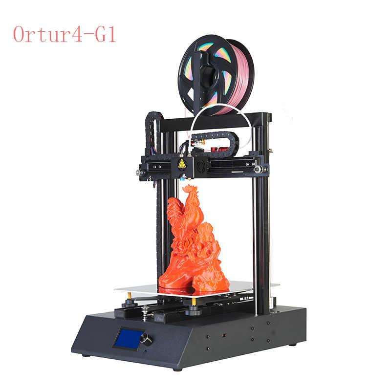 Ortur G1 Updated 3D Printer dengan Filamen Habis Sensor Termal Landasan Pacu Perlindungan Auto Tidur Meratakan Versi Repra 3d Printer