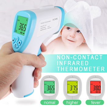 Handheld Infrared Thermometer Temperature Meter Non-contact Forehead Measuring Adult Baby All-shipping