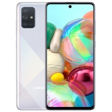Смартфон Samsung Galaxy A71 128 ГБ серебристый