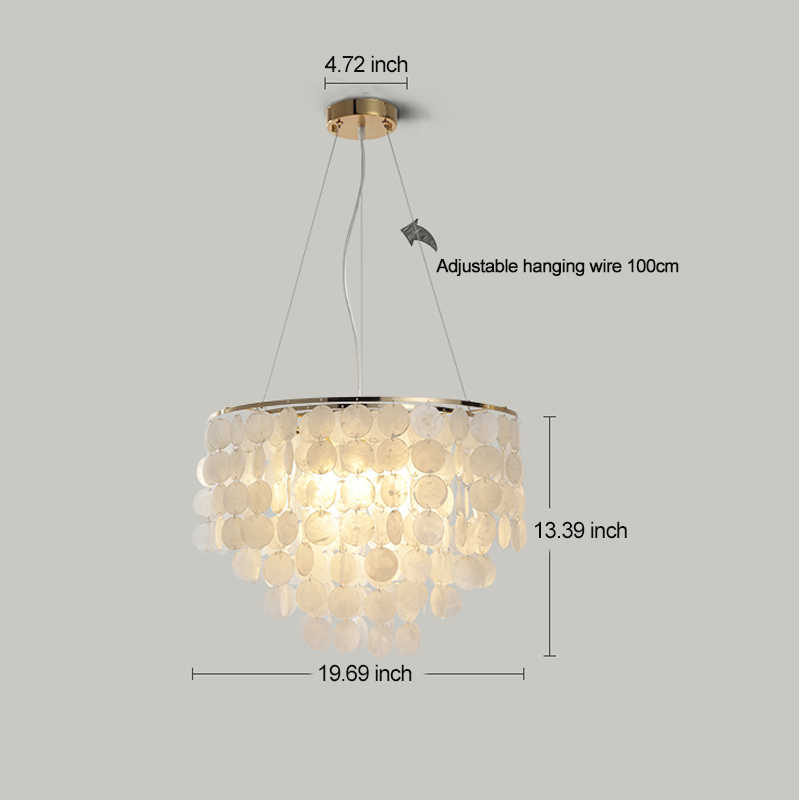 Современный белый подвесной светильник, регулируемый Золотой металлический потолочный светильник для ресторанов и отелей, корпус, домашнее освещение с подвеской