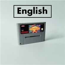 Earthbound rpg cartão de jogo eur versão inglês idioma bateria salvar