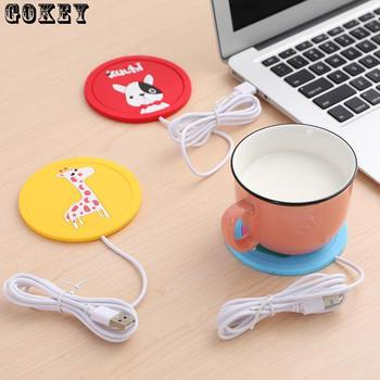 Cup Warmer USB Tea Silicone Coffee Heater For Milk Mug Hot Drinks Beverage Mat Kitchen Tools