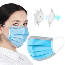 30/50/100PCS FDA  surgical masks disposable mask corona Anti Pollut Anti Dust  Thin   anti-smog mouth masks