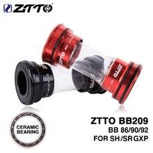 ZTTO CERAMIC BB209 BB92 BB90 BB86 Press Fit Bottom Brackets for MTB Road Mountain Bike Parts 24mm Crankset BB GXP 22mm Chainset