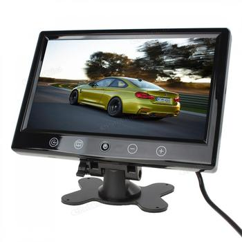 9 Inch Remote Control Car Rear View Monitor TFT LCD Color Screen 2 Video Input Rearview Reverse Monitor