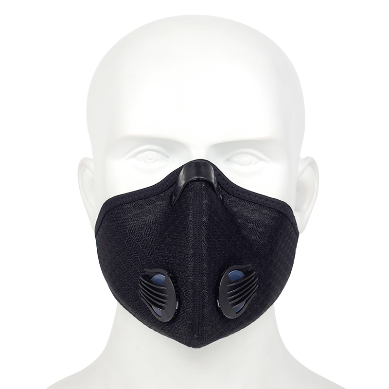 2020 New Dustproof Training Mask Outdoor Sports Riding Mask Filtering Exhaust Gas Anti-pollen Allergy Mask Anti-pollution Mask