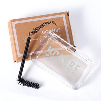 3D Feathery ceja Styling ceja Tint pomada cosméticos impermeable bálsamo maquillaje duradero tinte Long eyew Wax E8V5