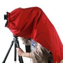 ETone กันน้ำ Dark ผ้าโฟกัสสำหรับ 4x5 5x7 8x10 ขนาดใหญ่รูปแบบกล้องห่อ