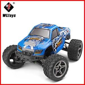 WLtoys 12402 RC электрический грузовик, супер автомобиль 1/12 4WD 2CH Радио пульт дистанционного управления, высокая скорость внедорожного монстра, ск...