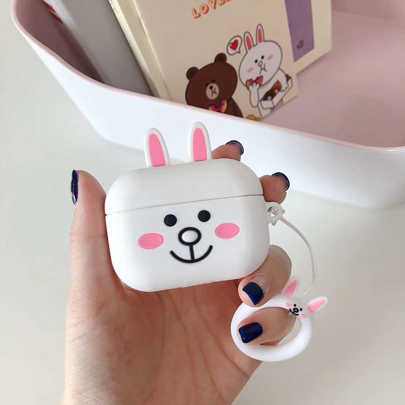 Cute 3D Silicone Case for AirPods Pro 141