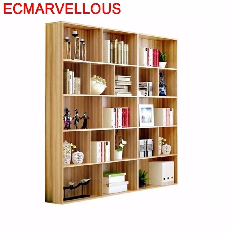 Madera Home Dekoration Kids Librero Meuble De Maison Estanteria Para Libro Wodden Decoration Furniture Retro Book Bookshelf Case