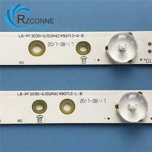 "Image 3 - LED תאורה אחורית רצועת 12 מנורת עבור פיליפס 49 ""49PUS6501 LB PF3030 GJD2P6C490712 L D R B 49AEL2 L KD 49X6000D 49PUH6101 49PUS7272"