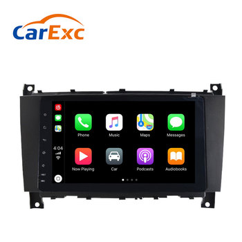 Android 9.0 Autoradio Built-in CarPlay For Mercedes/Benz W203 W209 W219 A-Class A160 C-Class C180 C200 CLK200 Radio Stereo Unit image
