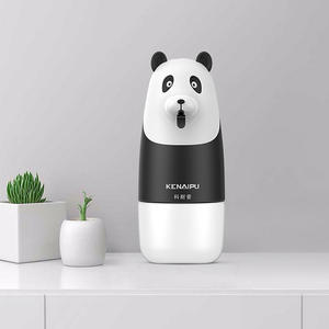 Box Soap-Dispenser Bathroom-Accessories Hand-Sanitizer Panda Rechargeable Liquid-Soap