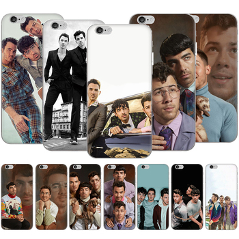 Transparent Case for iPhone SE 2020 6 6s 7 8 Plus X XR XS 11 12 Pro Max 12 Mini Back Cover Jonas Brothers image