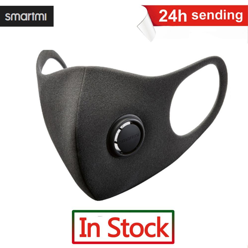 Fast Delivery KN95 Mask SmartMi PM2.5 Haze Mask 3PSC Anti-haze Face Mask Adjustable Ear Hanging 3D Design Comfortable Light N95