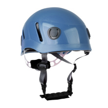 Adult Professional Rock Climbing Helmet Caving Rescue Hard Hat Red/Blue