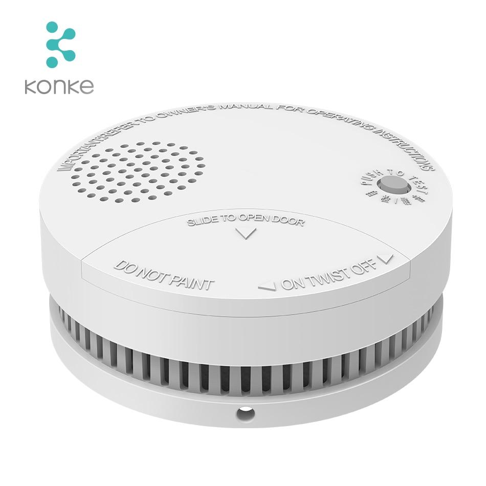 Smart Home ZigBee Fire Alarm Smoke Sensor Gas Detector Water Immersing Flood Leak Detector Security Remote Contro
