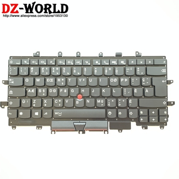 New CFA Canadian French Backlit Keyboard for Lenovo Thinkpad X1 Carbon 4th Gen 20FB 20FC Backlight Teclado SN20K74747 00PA699 image
