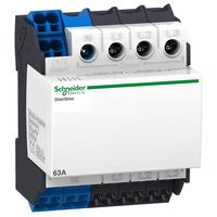 Terminal block cable distributor (upper inlet) 4P 63A Rated operating voltage 440VAC DIN rail installation 04040