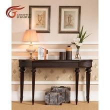 Из красного дерева резные шкафов столов мебели для гостиной desplay conner стол WA440