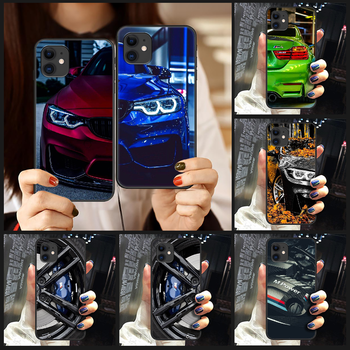 Blue Red Car for Bmw Phone Case Cover Hull For iphone 5 5s se 2 6 6s 7 8 plus X XS XR 11 PRO MAX black cover pretty cell cover image