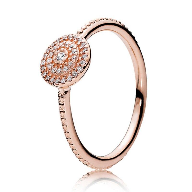 Кольцо на палец в форме сердечко серебряного цвета для женщин, европейская оригинальная Корона, изящные кольца на палец, свадебные украшения, 50 стилей, Прямая поставка - Цвет основного камня: Rings 041