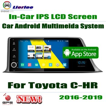 """Car Android Player For Toyota C-HR (AX10) CHR IZOA 2016~2019 9"""" IPS LCD Screen GPS Navigation System Radio Audio Video Stereo"""