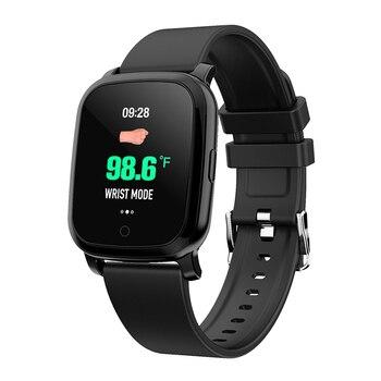 SWT20 Smart Watch Men Women GPS Infrared Thermometer Fitness Tracker Bracelet Blood Pressure Wristband