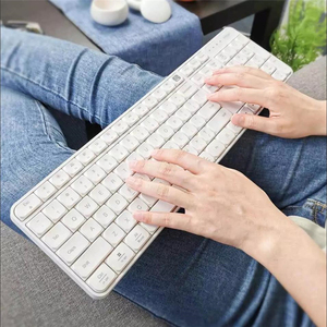 Image 3 - オリジナル youpin miiiw rf 2.4 ghz ワイヤレスオフィスキーボードマウスセット 104 キー windows pc mac 対応ポータブル usb キーボード