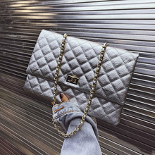 Classic Lingge Women Shoulder Bags Casual women Handbags Female DesignerClutches Envelope Chain Bag Tote High Quality