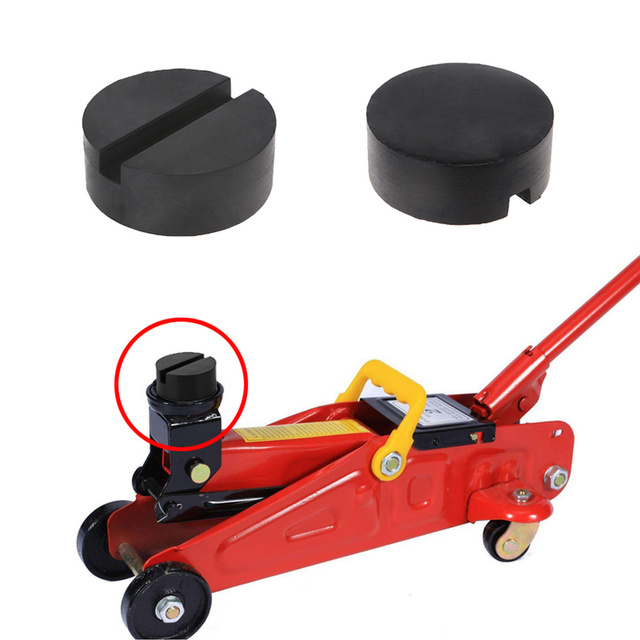 4 Ton Car Lift Jack Stand Rubber Pads Block Enhanced Type Car Repair Tools for Car Lift Tool Accessories Universal