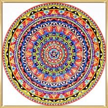 New 5D Diamond Painting Mandala Diamond Embroidery Round Shinny Beads Picture Of Rhinestone Painting Christmas Home Decoration