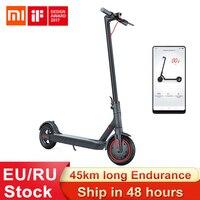 Xiaomi-patinete eléctrico Mijia M365 Pro, versión Global, batería de 45km, aeropatín, Longboard, 2 ruedas, para adulto