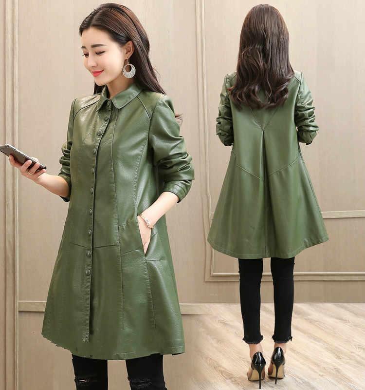 Ladies Motor Fashion 2020 Autumn Winter Women Coat Leather Jacket Women's Outerwear Female Jackets LW9924