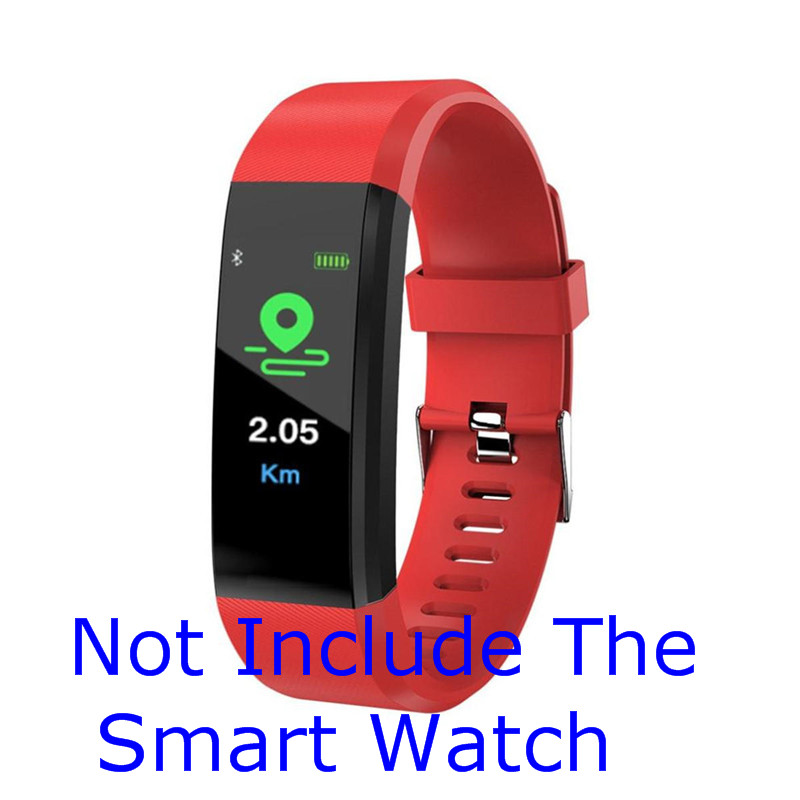 Silicone Smart Bracelet Wristband Heart Rate Monitor Blood Pressure Fitness Tracker Life Waterproof  Watch Straps For XANES B05