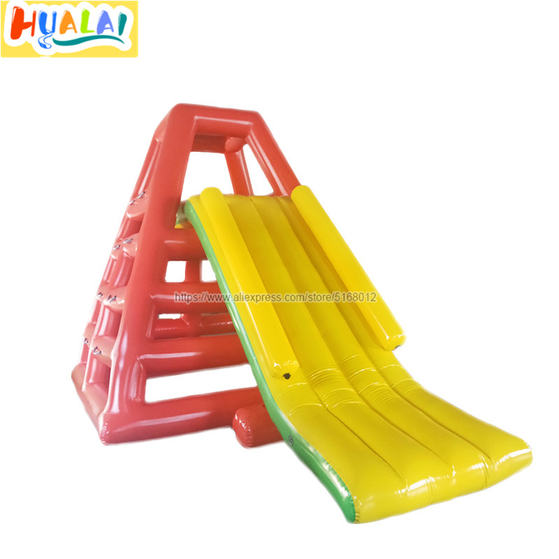 outdoor giant inflatable water slides water park water toys for the lake swimming pool for children PVC0.9mm free shipping