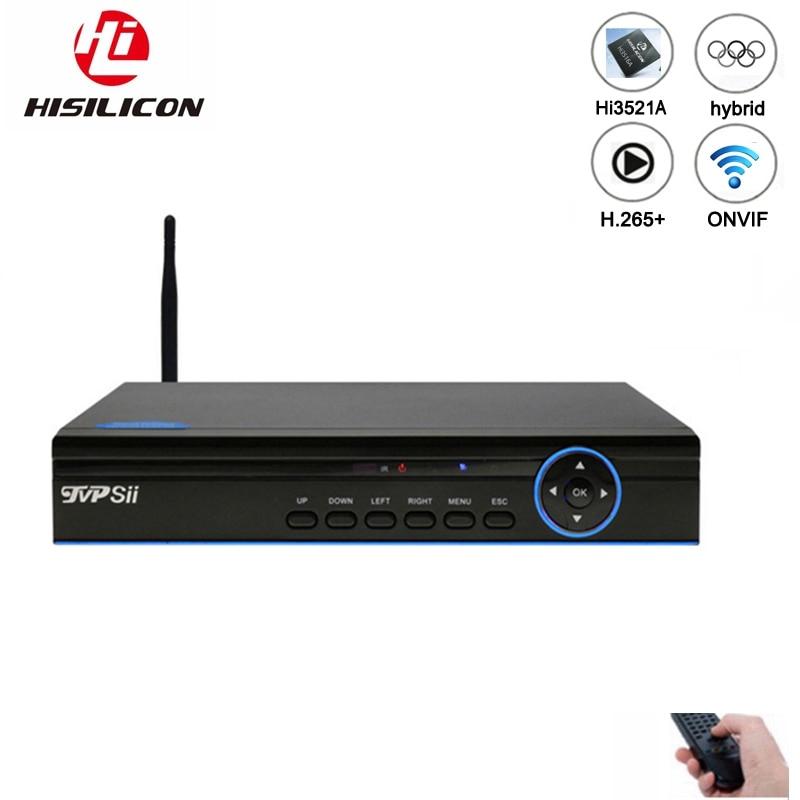 Niebieski Panel Hi3521A 16 kanałowy 1080N H.265 + 16CH/8CH 6 w 1 Wifi hybrydowy koncentryczny XVI NVR CVI TVi AHD CCTV DVR darmowa wysyłka w Rejestratory wideo do nadzoru od Bezpieczeństwo i ochrona na AliExpress - 11.11_Double 11Singles' Day 1