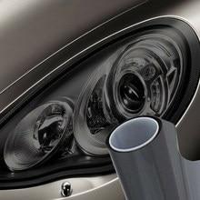 40X150 Cm Licht Cover Film Waterdichte Gloss Black Rook 40X150 Cm Koplamp