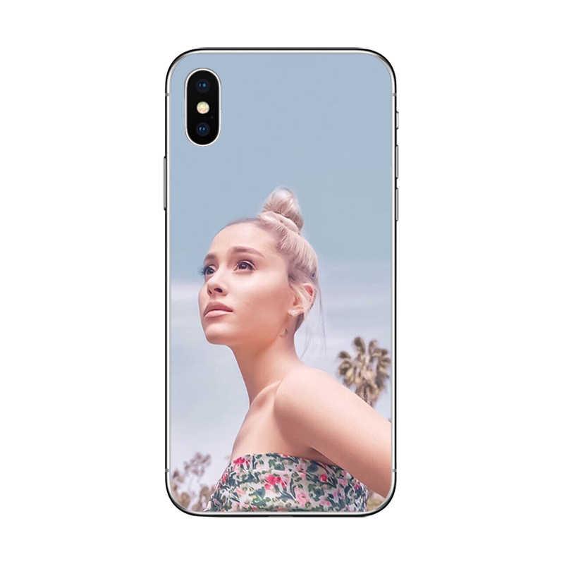 Ciciber Charming Ariana Grande Molle del silicone TPU Cassa Del Telefono per iphone 11 Pro Max 7 8 6 S Plus 5 5S SE X XR XS MAX Bellezza Coque