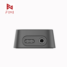 FIMI Palm Gimbal camera Base Official Charging Base Adapter For FIMI Palm gimbal camera Original Accessory 3 5mm micphone hole tanie tanio FUNSNAP 1-Axis fimi palm accessories Bluetooth Handheld gimbal gimbal parts camera gimbal accessories Z tworzywa sztucznego