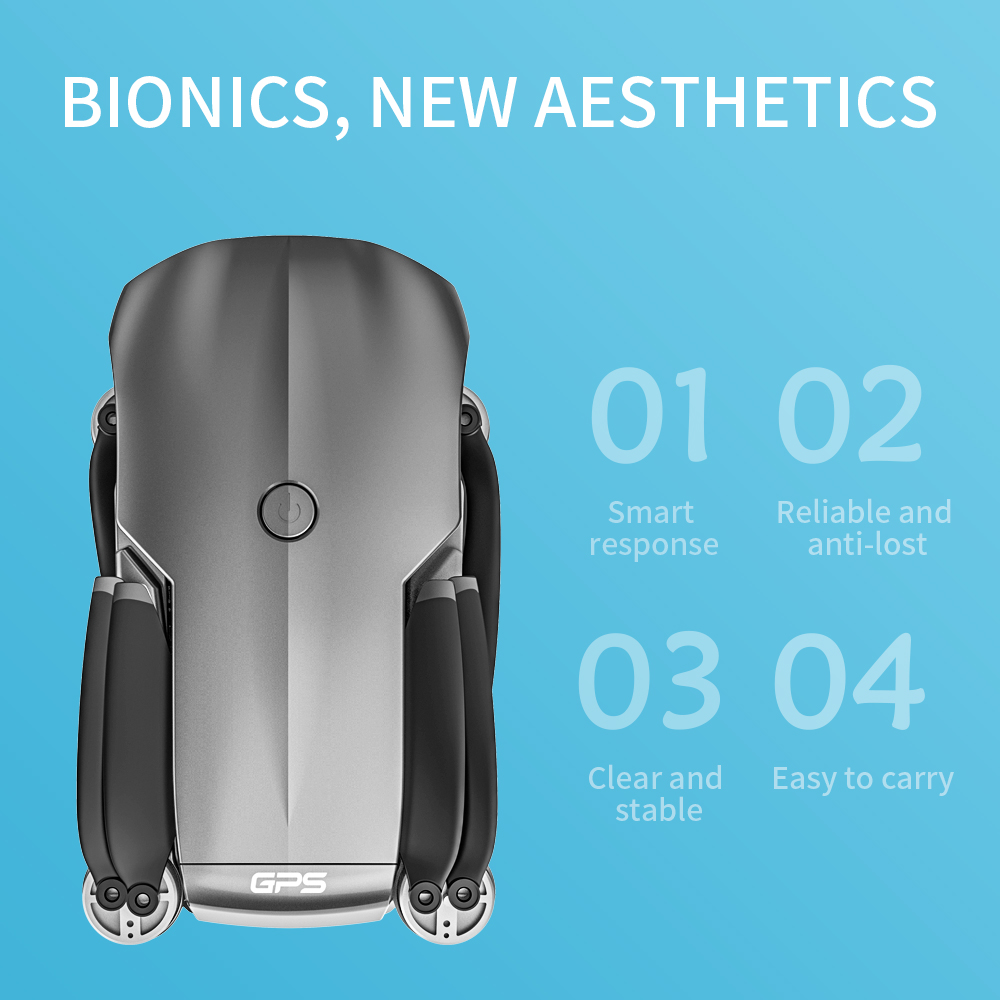 2020 NEW M9968 Drone 5G GPS WIFI 6k HD Mini Camera Pro Fesional 1200 METERS Distance FPV DronesProtable Dron VS EX5 L108 E520S