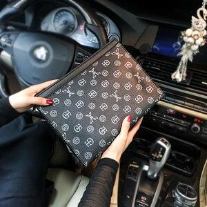 Image 2 - Tidog sac à main pour hommes, sac classique business décontracté, pochette pour IPAD