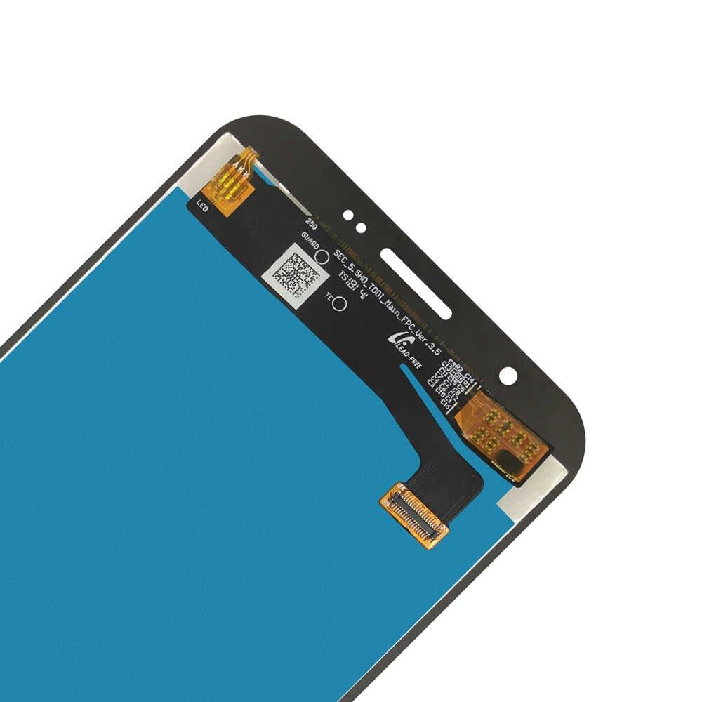 شاشات الكريستال السائل لسامسونج غالاكسي J7 J727 SM-J727P J727V J727A شاشة LCD تعمل باللمس استبدال الشاشة