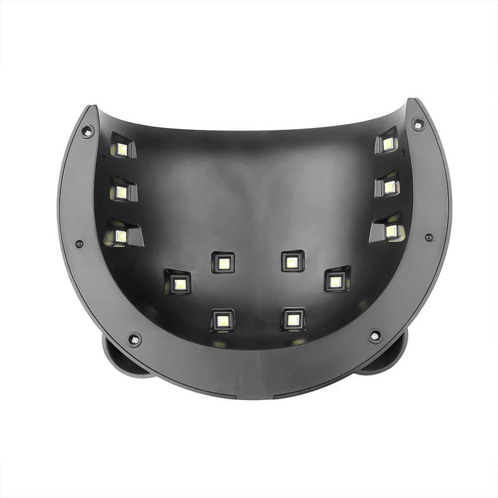 F. lashes 36W Panda Uv lamba jel oje kür LED tırnak lambası manikür makinesi sensör USB şarj çivi kurutma makinesi sanat araçları